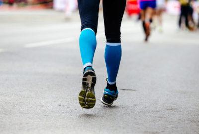 Kompressionssocken für den Läufer