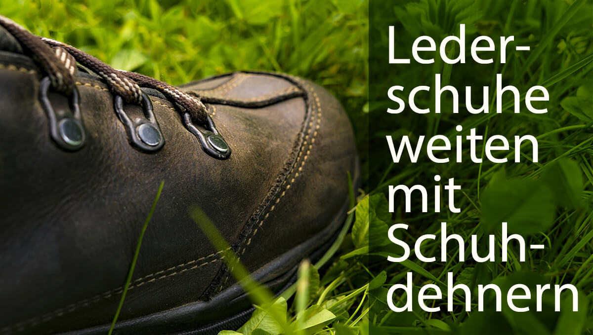 Lederdehner Langer /& Messmer Stiefeldehner aus Buchenholz f/ür Damen inkl Gr/ö/ße M 37//39,5